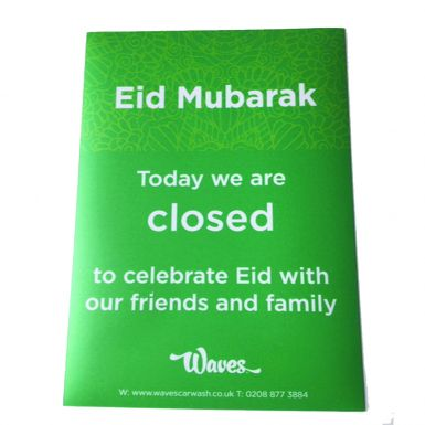 Religious Holiday Closure