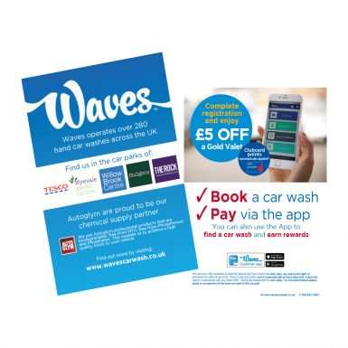 Customer App Leaflets and Posters